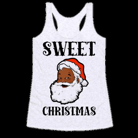 Sweet Christmas Racerback Tank Top