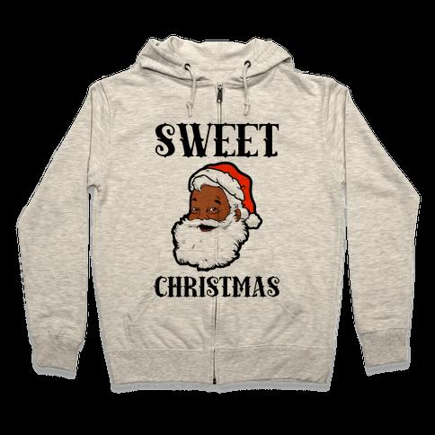 Sweet Christmas Zip Hoodie