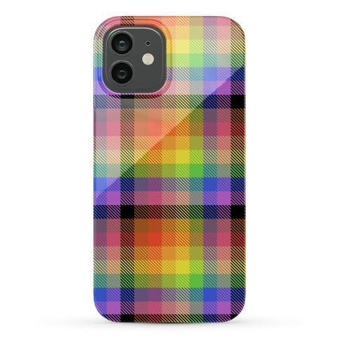Pride Flag Plaid Phone Case