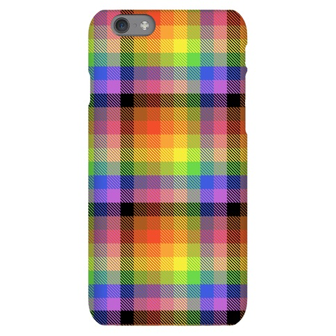 Pride Flag Plaid Phone Case