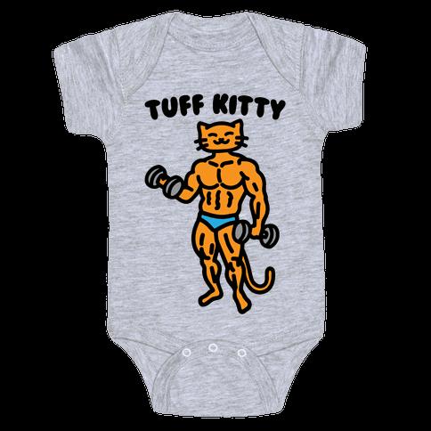 Tuff Kitty Baby One-Piece