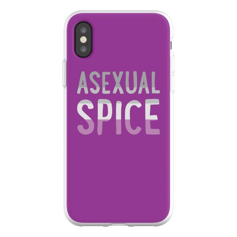 Asexual Spice Phone Flexi-Case