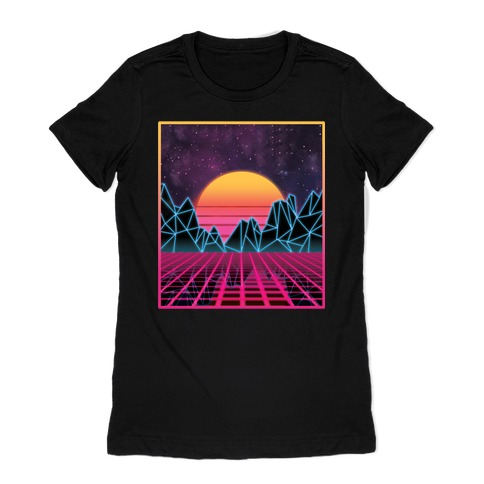 Synthwave Womens T-Shirt