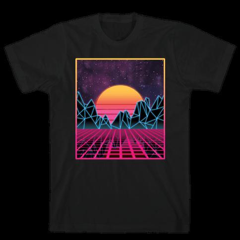 Synthwave Mens/Unisex T-Shirt