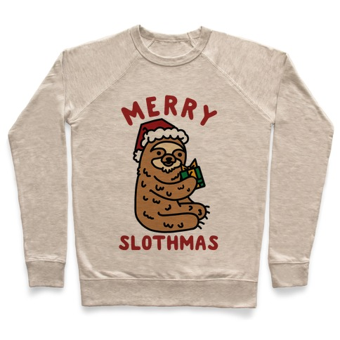 Merry Slothmas Pullover