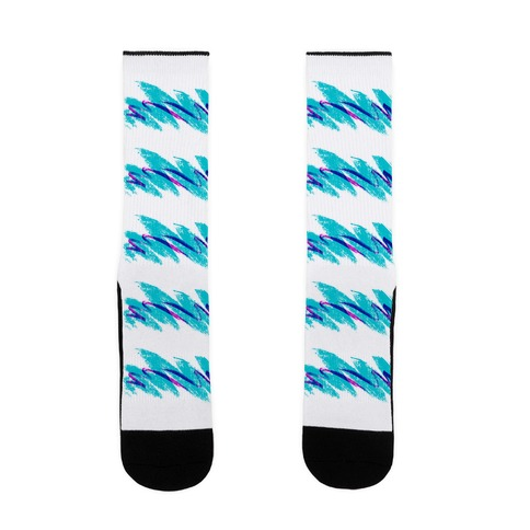 90s Jazz Wave Sock