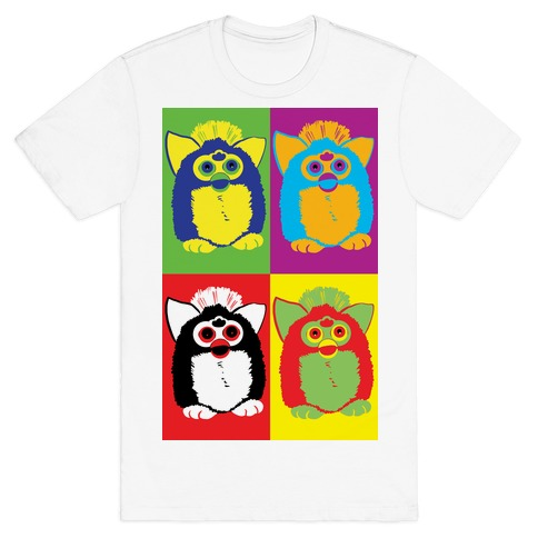 Furby Pop Art Pattern T-Shirt