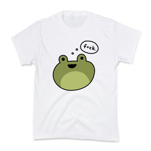 F*ck Frog (Censored) Kids T-Shirt