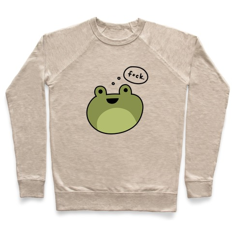 F*ck Frog (Censored) Pullover