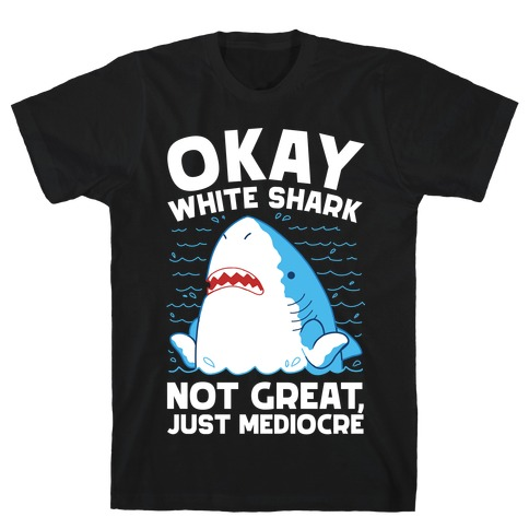 Okay White Shark T-Shirt
