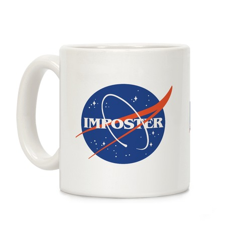Imposter Nasa Logo Parody Coffee Mug