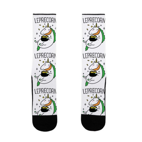 Leprecorn Unicorn Sock