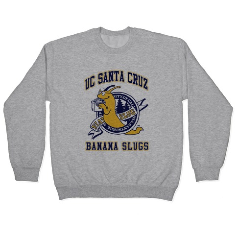 UC Santa Cruz Banana Slugs Vincent (Pair Shirt) Pullover