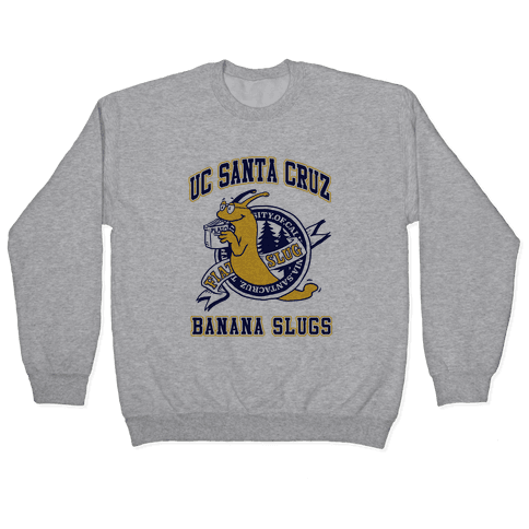 UC Santa Cruz Banana Slugs Vincent (Pair Shirt) Pullover