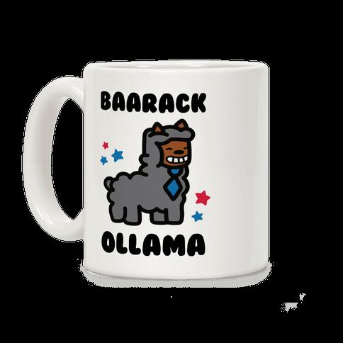 Baarack Ollama Coffee Mug