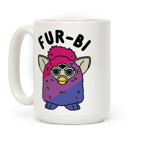 Fur-bi Bisexual Furby Coffee Mug