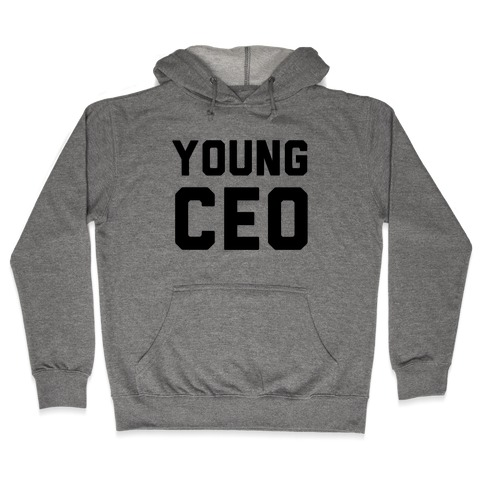 Young CEO Hooded Sweatshirt