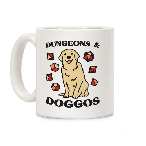 Dungeons & Doggos Coffee Mug