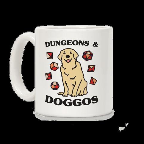 Dungeons & Doggos Coffee Mug