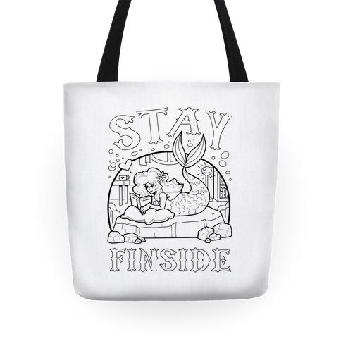 Stay Finside Tote