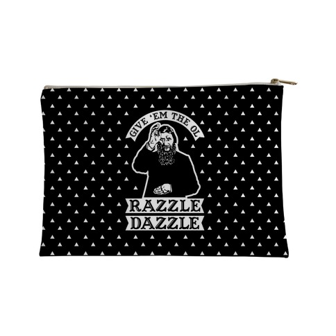 Give 'Em the Ol Razzle Dazzle Rasputin Accessory Bag