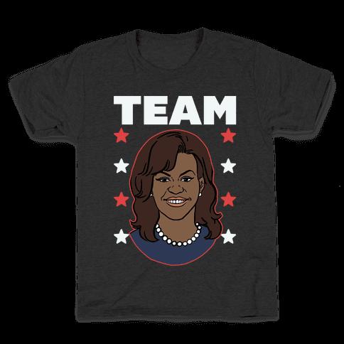 Tag Team Barack & Michelle Obama 2 Kids T-Shirt