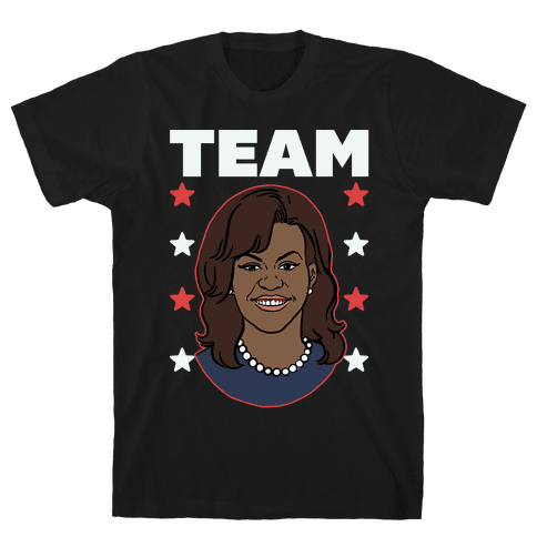 Tag Team Barack & Michelle Obama 2 Mens T-Shirt