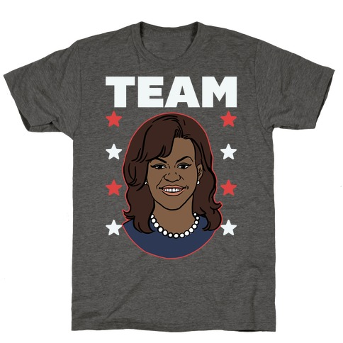 Tag Team Barack & Michelle Obama 2 T-Shirt