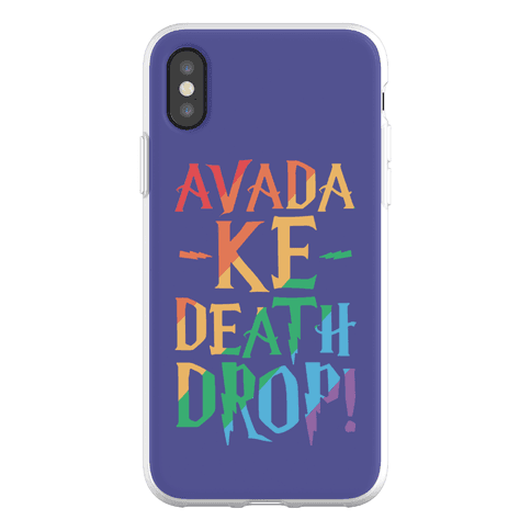 Avada Ke-Death Drop Parody Phone Flexi-Case