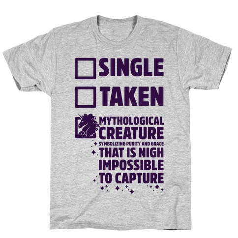 Single Taken Mythological Creature T-Shirt