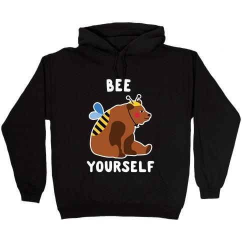 Bee Yourself Bear Hooded Sweatshirt