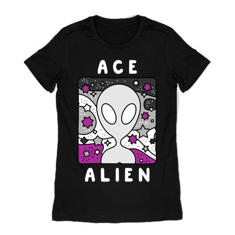 Ace Alien Womens T-Shirt