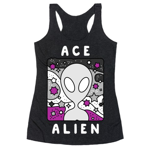 Ace Alien Racerback Tank Top