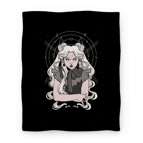 Goth Usagi (Sailor Moon Parody) Blanket