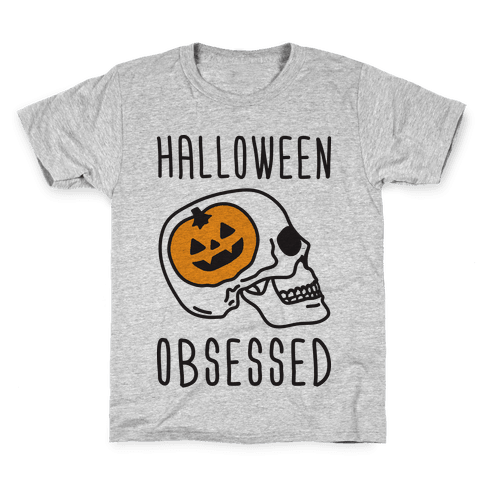 Halloween Obsessed Kids T-Shirt