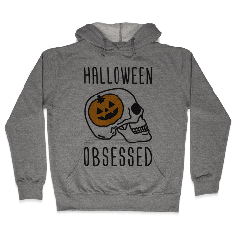 Halloween Obsessed Hooded Sweatshirt