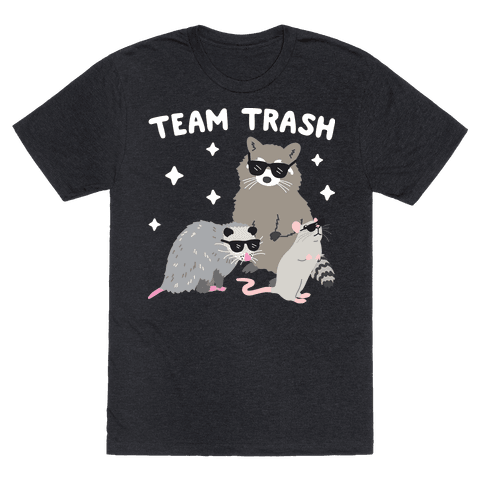 Team Trash Opossum Raccoon Rat Mens T-Shirt