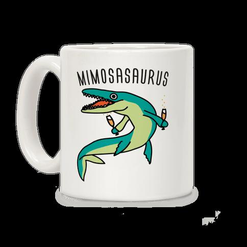 Mimosasaurus Coffee Mug