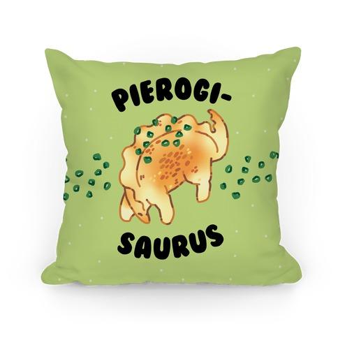 Pierogisaurus Pillow