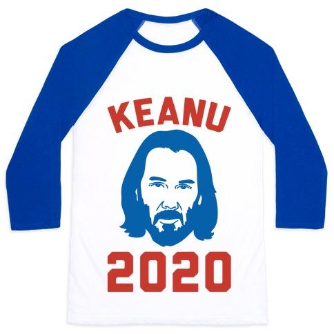 Keanu 2020 Baseball Tee