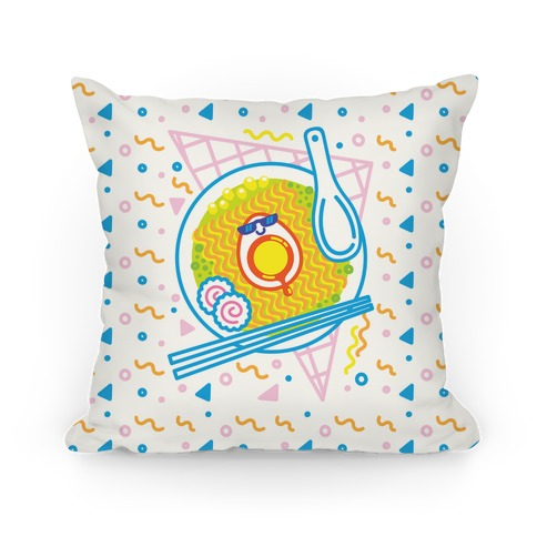 Rad-men (Rad Ramen) Pillow