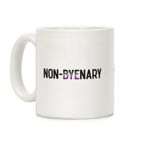 Non-byenary Asexual Non-binary Coffee Mug