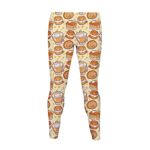 I LOVE PURRMPKIN PIE Women's Legging
