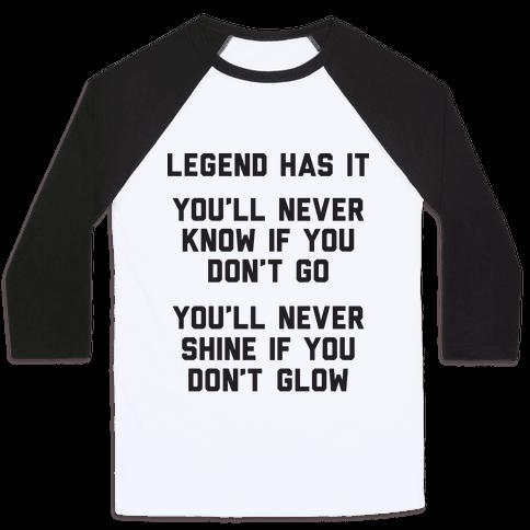 Legend Has It - All Star Parody Baseball Tee