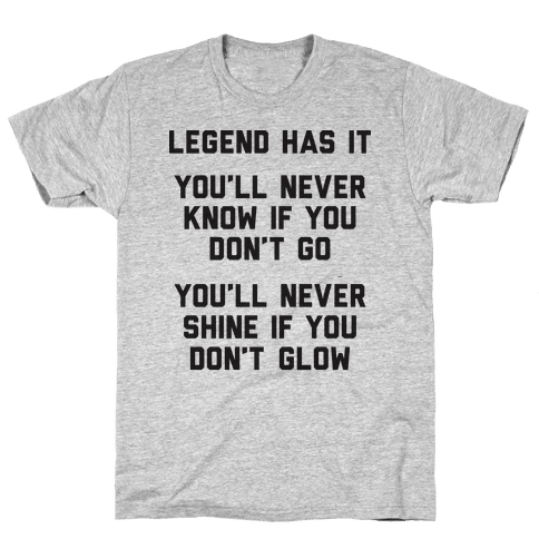 Legend Has It - All Star Parody Mens T-Shirt