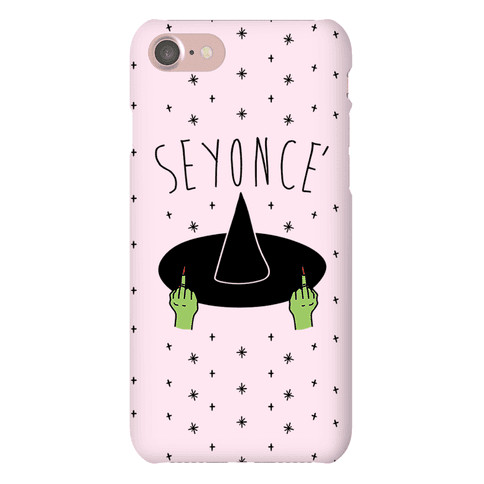 Seyonce' Parody Phone Case