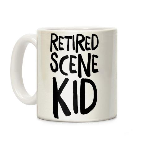 Retired Scene Kid Coffee Mug