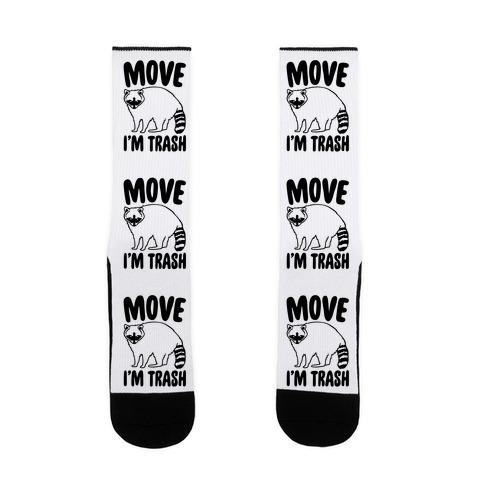 Move I'm Trash Parody Sock