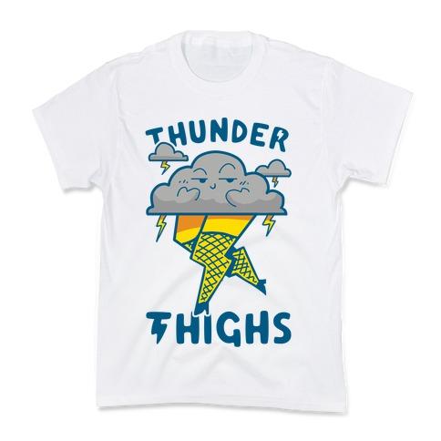 Thunder Thighs Kids T-Shirt