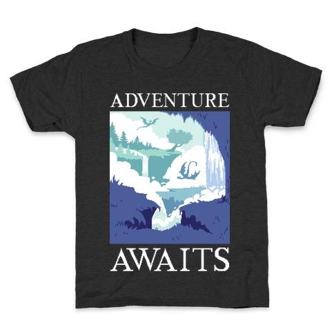 Adventure Awaits Kids T-Shirt